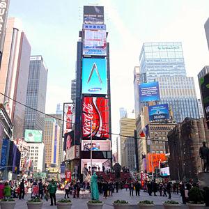Broadway Lights in New York City