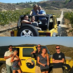 Winery Jeep Tour in Orange County