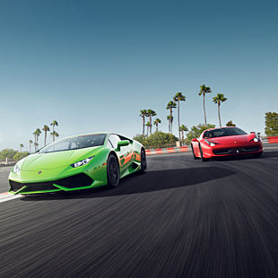 Drive a Lamborghini and Ferrari during this Racing Experience