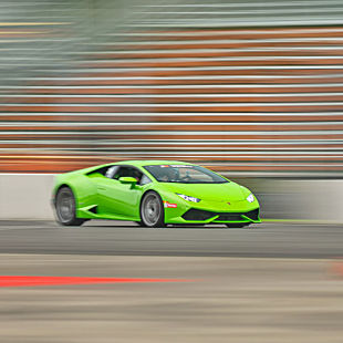 Race a Lamborghini in Indianapolis