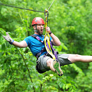 Zipline at Lake Geneva
