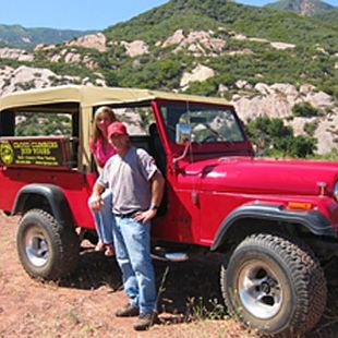 Ojai Jeep Tour in Santa Barbara