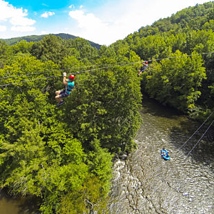 Waterfall Ziplining Tour in TN