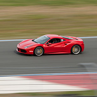 Drive a Ferrari at the Race Track
