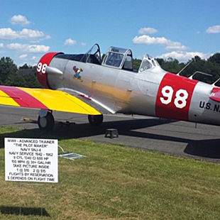 Historic Warbird Flight in New Jersey