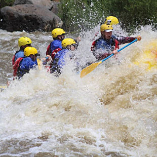 Overnight Whitewater Rafting in New Mexico