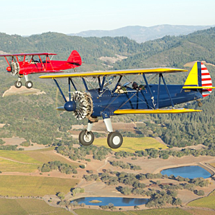 Sonoma Valley Scenic Biplane Ride in San Francisco