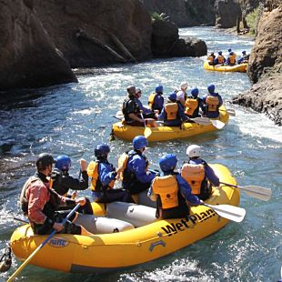 Whitewater Rafting near Portland
