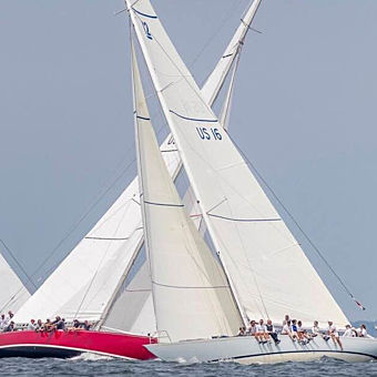 Americas Cup Racing Yacht