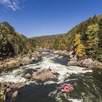 Rafting Trip on Upper Gauley River