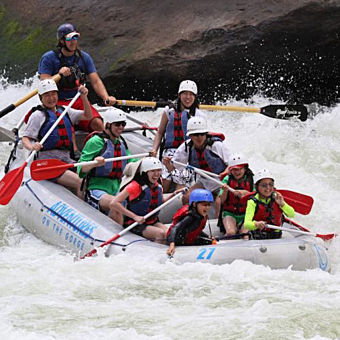 Whitewater Rafting for the Whole Family