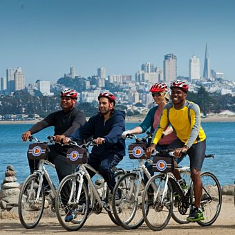 San Fran Private Bike Tour