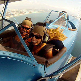 Biplane Sightseeing Tour in Florida