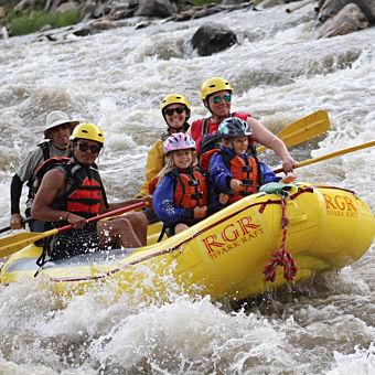 Zipline and Whitewater Rafting Adventure near Colorado Springs