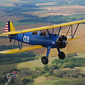 Biplane Sightseeing Flight