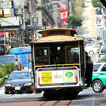 San Francisco Cable Car Photo Safari