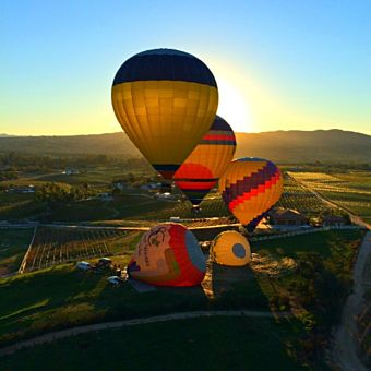 California Sunrise Hot Air Balloon Ride