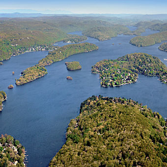 Helicopter Tour of Candlewood Lake