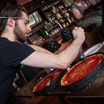 Classic Deep Dish Pizza