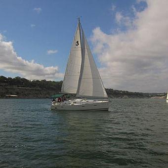 Chartered Yacht on Lake Travis