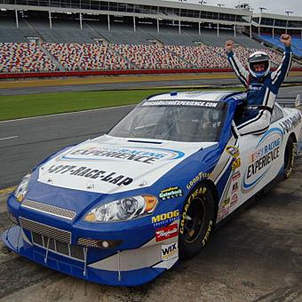 Drive NASCAR at Kansas Speedway