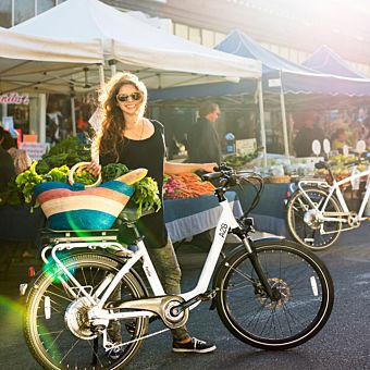 Enjoying Electric Bike Tour in San Francisco