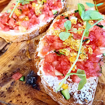 Food Tasting during Downtown St Petersburg Food Tour