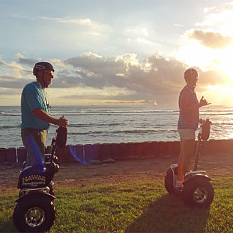 Waikiki Sunset Hoverboard Tour