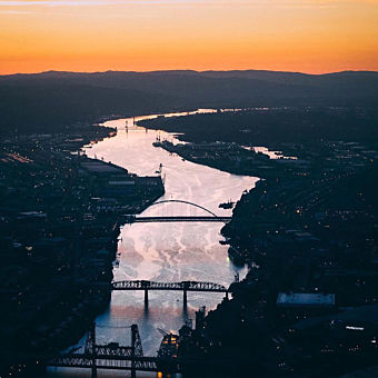 Scenic Tour of Portland