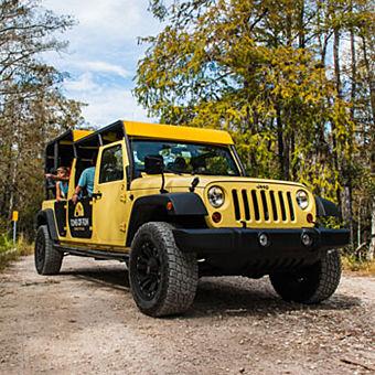 Everglades Jeep Tour