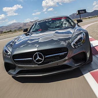 Drive a Mercedes AMG GTS at Las Vegas Motor Speedway