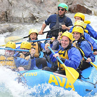 Rafting for kids near Denver