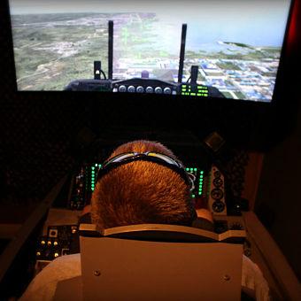 Fighter Pilot flight Simulator near Tampa