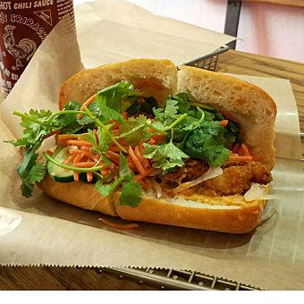 Sandwich during San Francisco Food Tour