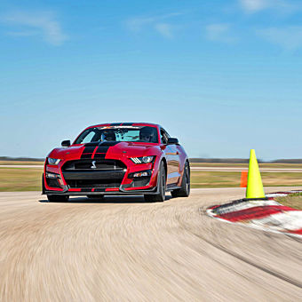 Race a Ford Mustang Shelby GT500 in Salt Lake City
