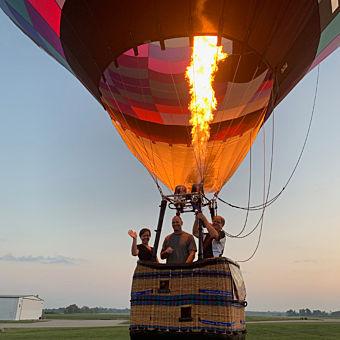 Private Balloon Ride near Cincinnati
