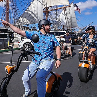 San Diego Scooter Tour