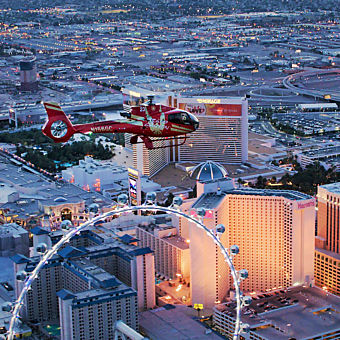 Grand Canyon & Vegas Strip Helicopter Tour