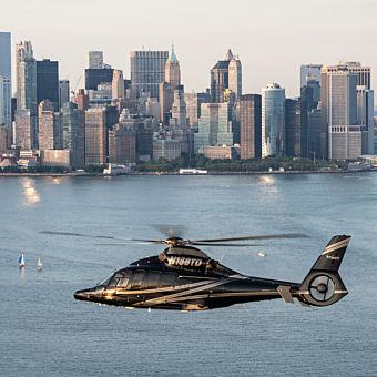Helicopter Flight in Manhattan