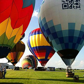 Hot Air Balloon Ride in Ohio
