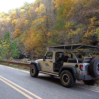 Nantahala Gorge Jeep Tour North Carolina
