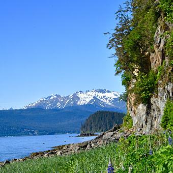 Douglas Island View of Juneau