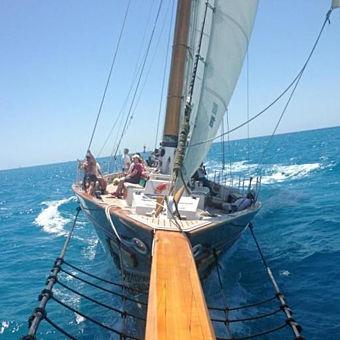 Schooner on Mimosa Cruise in Key West