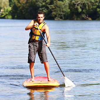 Lake Tugaloo Stand Up Paddle Boarding Chattooga River