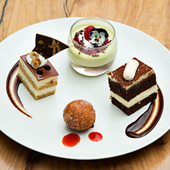 Signature Dessert Presented on Culinary Adventure Tour
