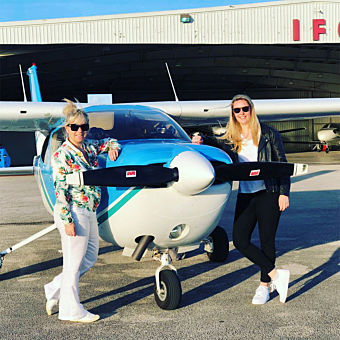 Fly Over Key Largo