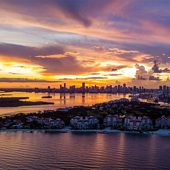 Sunset Scenic Flight