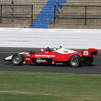 Indy Car Ride Along at MIS