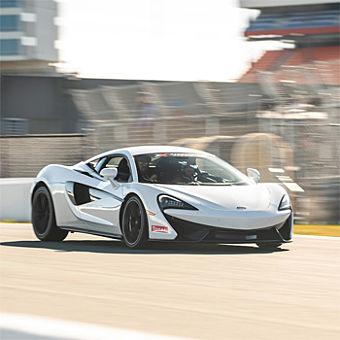 Drive a McLaren near Houston