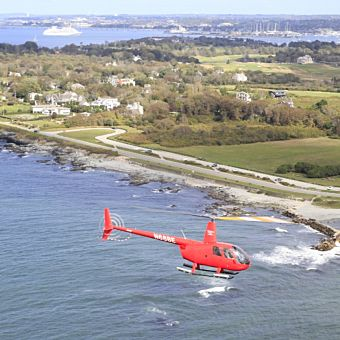 Newport Helicopter Tour with Scenic Views